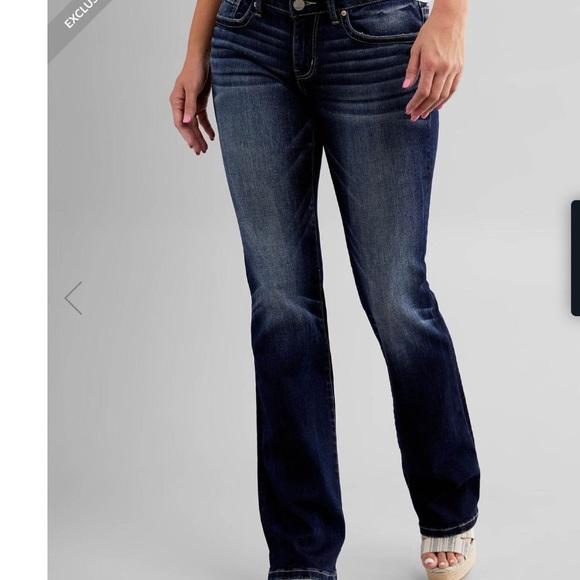 BKE Stella boot cut stretch jeans 👖